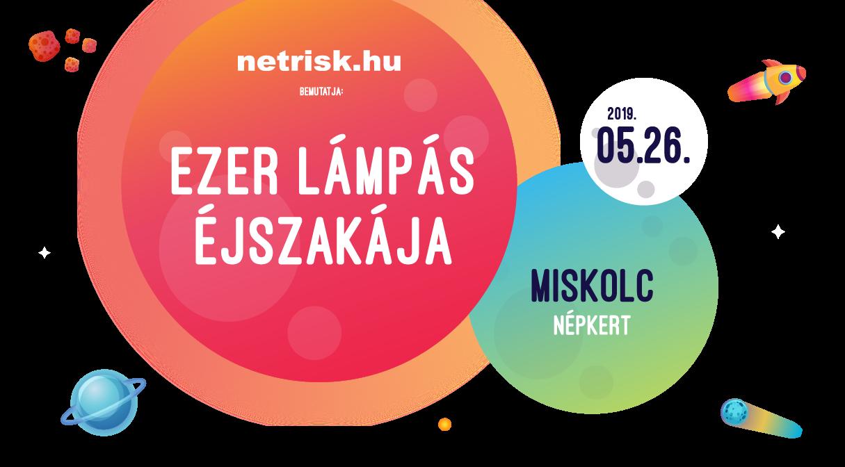 Ezer Lámpás Éjszakája Miskolc 2019.