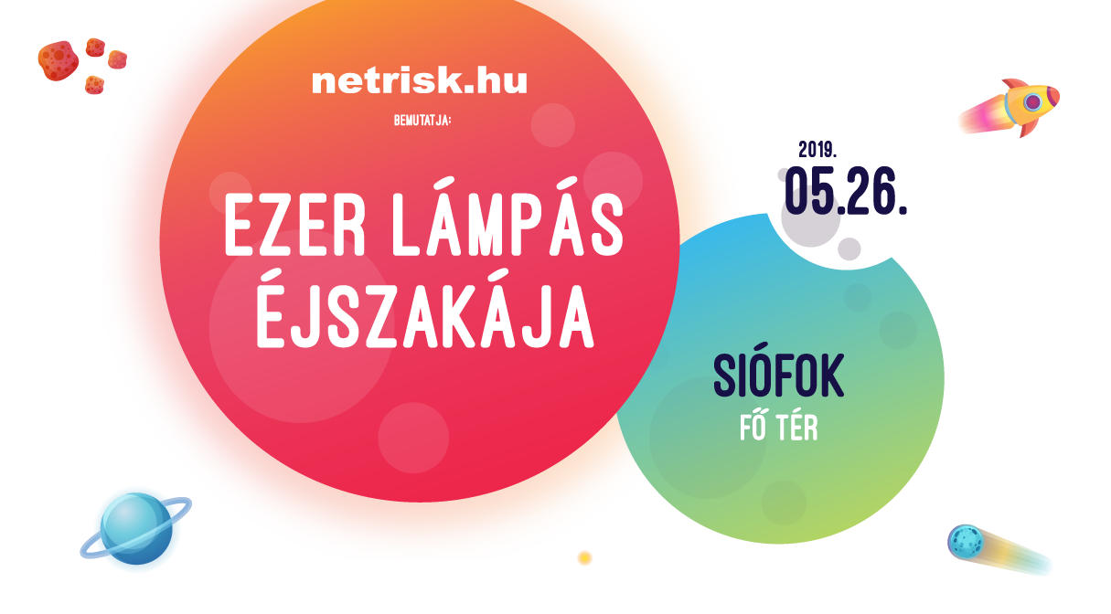 Ezer Lámpás Éjszakája Siófok 2019.