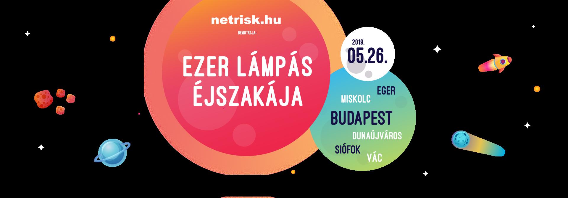 Ezer Lámpás Éjszakája program 2019