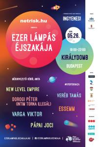 Ezer Lámpás Éjszakája Budapest plakát