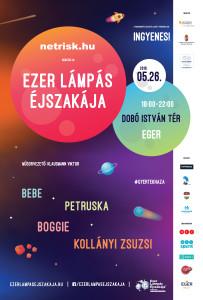 Ezer Lámpás Éjszakája Eger plakát