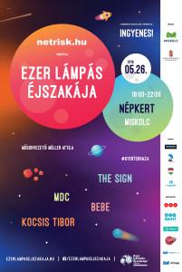 Ezer Lámpás Éjszakája Miskolc plakát